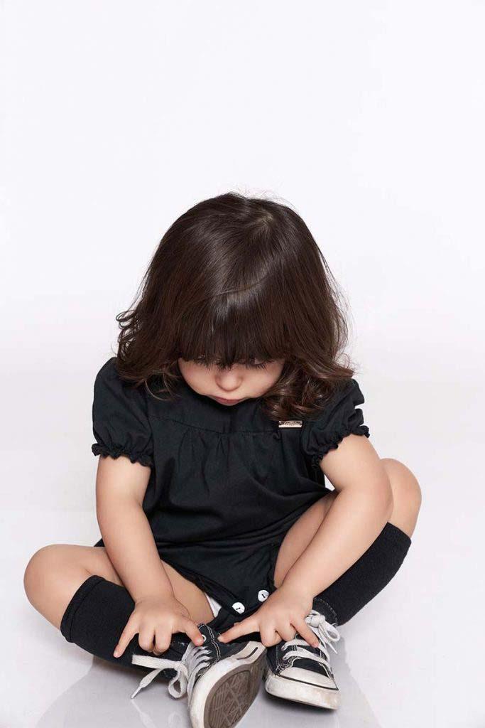 boby abierto negro algodón orgánico omho nina princesa2