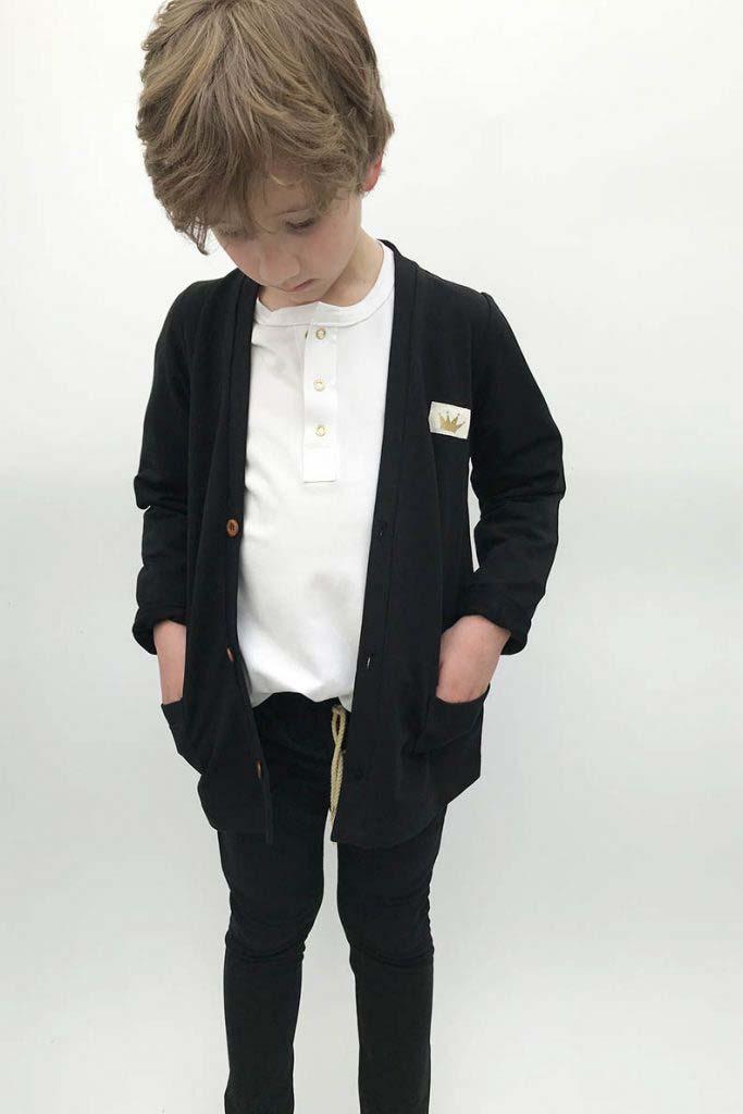chaqueta bolsillos omho negra algodón orgánico unisex2