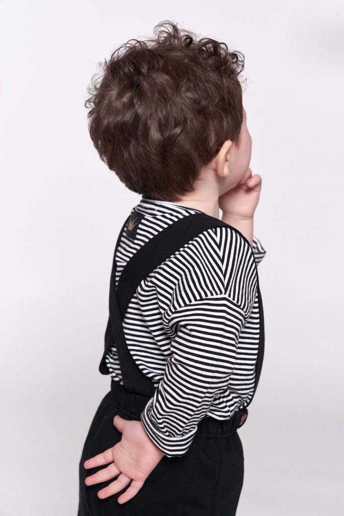pantalon tirantes omho negro algodón orgánico unisex nino1